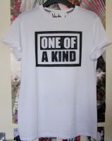 'One Of A Kind' customised t-shirt by Vardagaladhiel