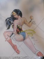 Wonder Woman Colored by DamageArts