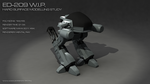 ED-209 work in progress 2 by DeusUK