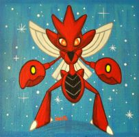 Scizor Painting by fuish