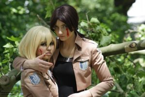 Fighting till the end  Ymir x Krista by xXnessa-chanXx