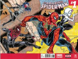 Spiderverse sketch cover001lowres by ElvinHernandez