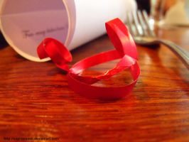 Red Ribbon by sophierevell