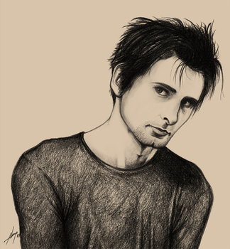 Matt Bellamy by brunoadrego