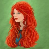 Merida the Brave by dropeverythingnow