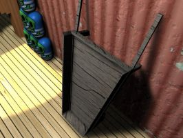 3D Wheel Barrow by Barnman