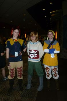 Groose, Link, and Pipit by MeariiShiotsu