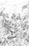 TF Time wars 3 cover pencils by Dan-the-artguy