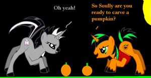 Me playing with my cousin soully. by Mr-Bloodyjack