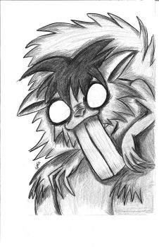 The Zombie Squirrel by IGY-MIND