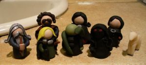 Harry Potter: Clay Miniatures by nothing-but-a-dream