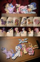 Pony Bookmarks by nicolaykoriagin