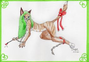 Yule Gift IV: Bad Pussycat by Cheetahbird