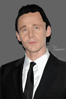 Tom Hiddleston by gamertjecool