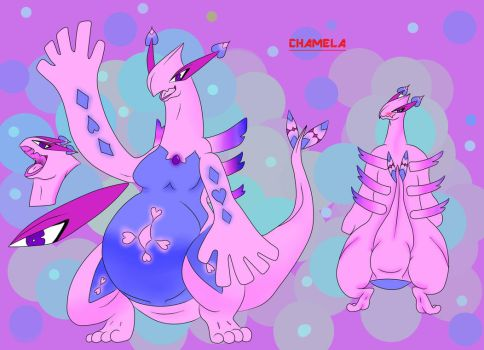 Chamela! (OC Ref Sheet) by Keoboost