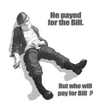 Bill Paid the Bill by sterna