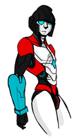 Armorless: Perceptor by KusuKitty