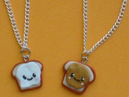 FlufferNutter BF Necklaces by ClayConnections