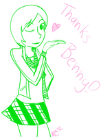 Chie for Benny by Schakerin