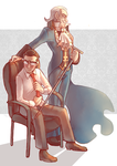 Gregory and Manfred by Sony-Shock