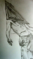 Pyramid Head by xRainxWhenxIxDiex