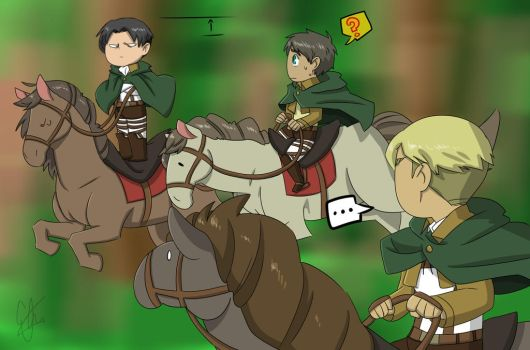 Levi is too short by elorathedino