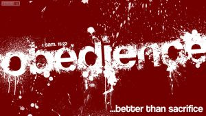 Obedience- 1 Samuel 15:22 by SympleArts