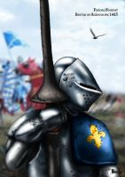 Feudal knight portrait by dmavromatis