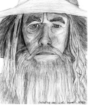 Gandalf the Grey by AinuLaire