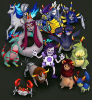 Pokestuck! (Homestuck fanart) by Spheredra