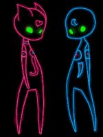 Spectra and Neon my heart (gif) by Yumi-CodeLyoko-Anime