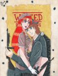 Gift: Like Bonnie and Clyde by Lily-de-Wakabayashi