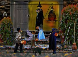 Halloween Magic by LindArtz