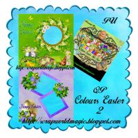 Colours Easter QuickPage 2 png Free by weezya