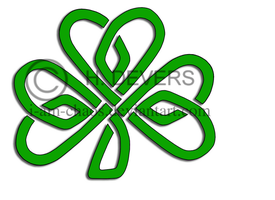 Celtic Shamrock Tattoo by HDevers