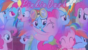 PinkieDash/RainbowPie Wallpaper by DrakkenlovesShego12