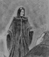 Snape and Neville by Dinahleit