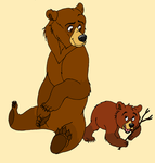 Kenai and Koda: Brother Bear by RedMcSpoon