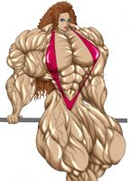 Female Bodybuilder by karinto