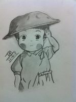 Setsuko Grave of the Fireflies by TinyTinaa