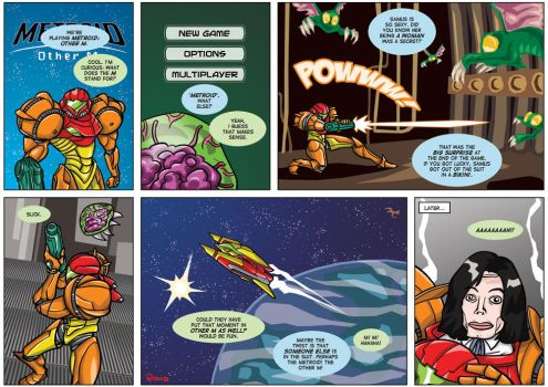 NGamer 12: The Other Metroid by captainaugust