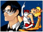 sailor moon and tuxedo mask by kika1983