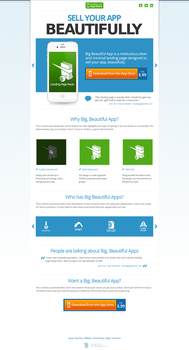 Big Beautiful App Landing Page by 723media
