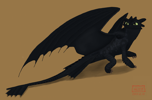 Toothless Dragon 5 by Green-Dragon13