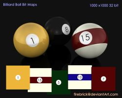 Billiard balls by Steven-Becker