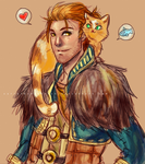 The Cat Guy by CarrotCakeBandit