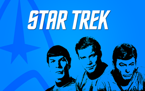 Star Trek Wallpaper by TitaniumWarrior