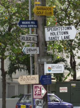 Barbados Road Signs by Retoucher07030