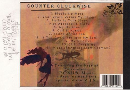 Cd Back Cover by iluvrock0527