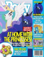 Pony Magazine: Royal Sisters by Dutchess6942